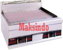 Mesin Griddle 3 Mesin Pemanggang Griddle (Gas – Elektrik)