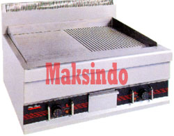 Mesin Griddle 4 Mesin Pemanggang Griddle (Gas – Elektrik)