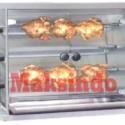 Mesin Pemanggang Ayam (Gas Rotisseries)
