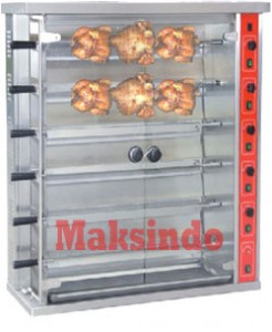 Mesin Pemanggang Ayam 2 246x300 Mesin Pemanggang Ayam (Gas Rotisseries)