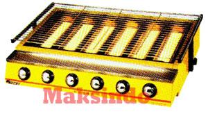 Mesin Pemanggang BBQ 5 Mesin Pemanggang Sate, dan Barbeque Burner