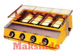 Mesin Pemanggang BBQ Mesin Pemanggang Sate, dan Barbeque Burner