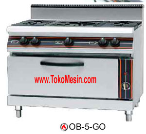 mesin gas open burner 2 maksindo Mesin Gas Open Burner (Kompor Kabinet)