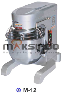 Mesin Mixer Planetary M 12 maksindo.org  Mesin Mixer Roti Planetary