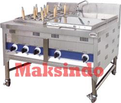 Mesin Pemasak Mi 3 Mesin Pemasak Mie (Gas LPG)