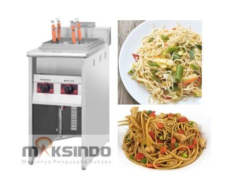 Mesin Pemasak Mie 4 Lubang maksindo Mesin Pemasak Mie (Gas LPG)
