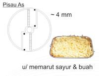 Mesin Perajang Buah b maksindo.org  Mesin Perajang Sayur Buah (fruit vegetable cutter)