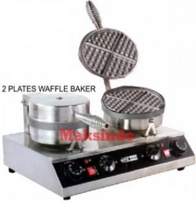 Mesin Waffle Iron 2 285x300 Mesin Pembuat Wafel (Waffle Iron)