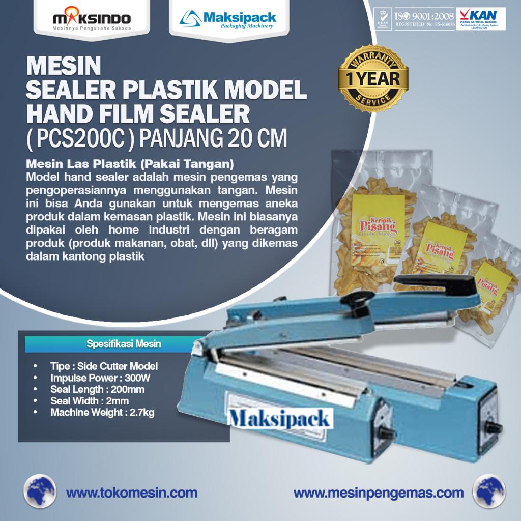 Mesin Sealer Plastik Hand Sealer Tipe PCS200C panjang 20 cm 1024x1024 Mesin Hand Sealer