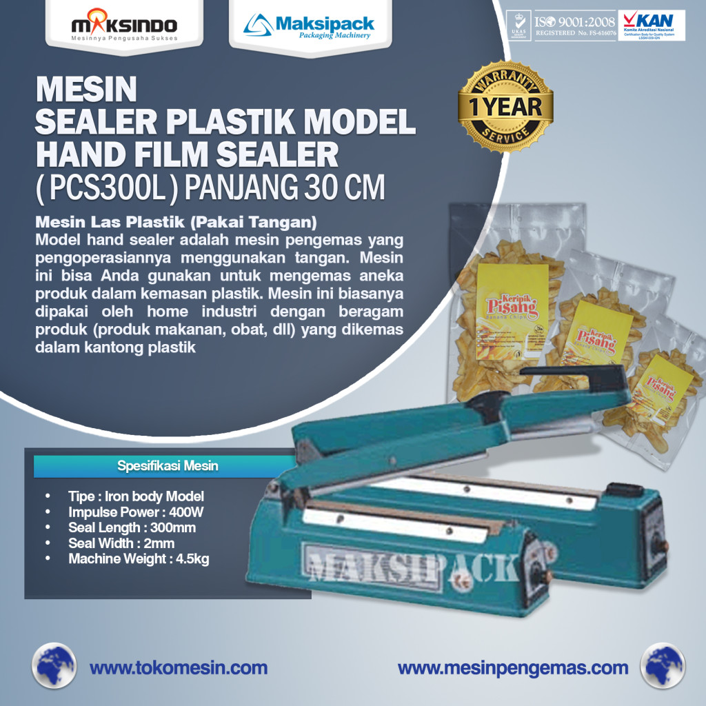 Mesin Sealer Plastik Hand Sealer Tipe PCS300lpanjang 30 cm 1024x1024 Mesin Hand Sealer
