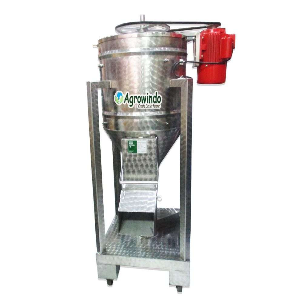 MIPO 100 VERSI 5 Mesin Mixer Powder Vertikal