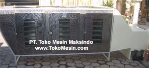 Mesin Oven Pengering 12 Mesin Oven Pengering Serbaguna (Stainless – Gas)