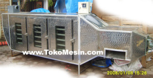 Mesin Oven Pengering 8 300x154 Mesin Oven Pengering Serbaguna (Stainless – Gas)