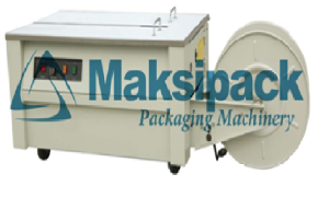 Mesin strapping KZB II maksindo.org  Mesin Semi Automatic Strapping Machine