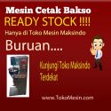 Mesin Cetak Bakso Maksindo Ready Stock