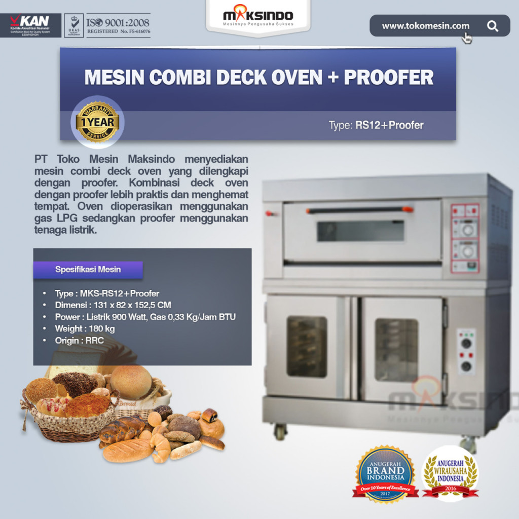 Kombinasi OVEN Gas Proofer RS12+proofer 1024x1024 Kombinasi OVEN Gas   Proofer (RS12+proofer)
