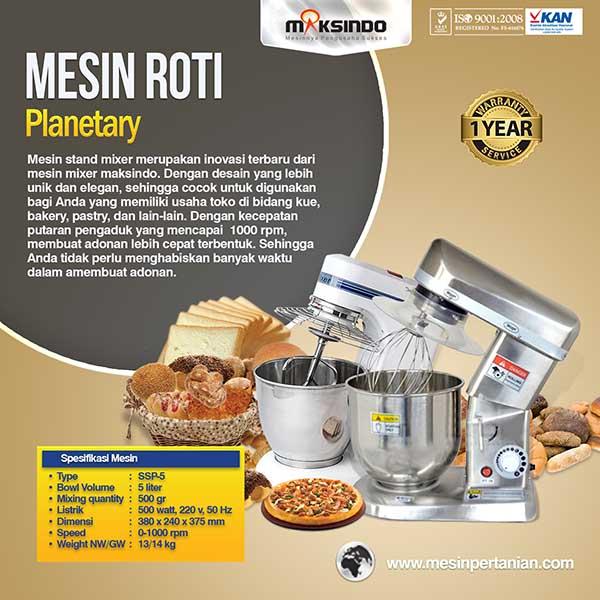 mesin bakery Mesin Mixer Roti Planetary