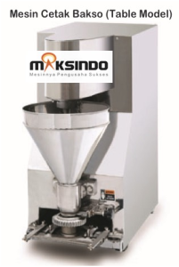 Mesin Cetak Bakso Mini MCB 200B maksindo 201x300 Mesin Cetak Bakso Mini (Table Model)   MCB 200B