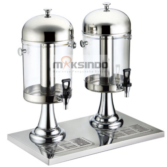 Juice Dispenser Buffet Dispenser 2 Tabung 2 maksindo Juice Dispenser / Buffet Dispenser 2 Tabung