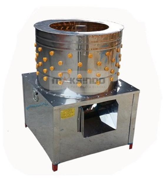 Mesin Pencabut Bulu Ayam dan Unggas MKS PLC45 Mesin Pencabut Bulu Unggas