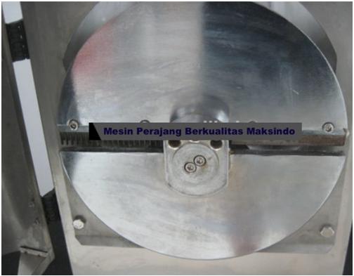 Mesin Perajang Keripik Kentang dan French Fries MKS CT100 2 maksindo Mesin Perajang Keripik Kentang dan French Fries   MKS CT100