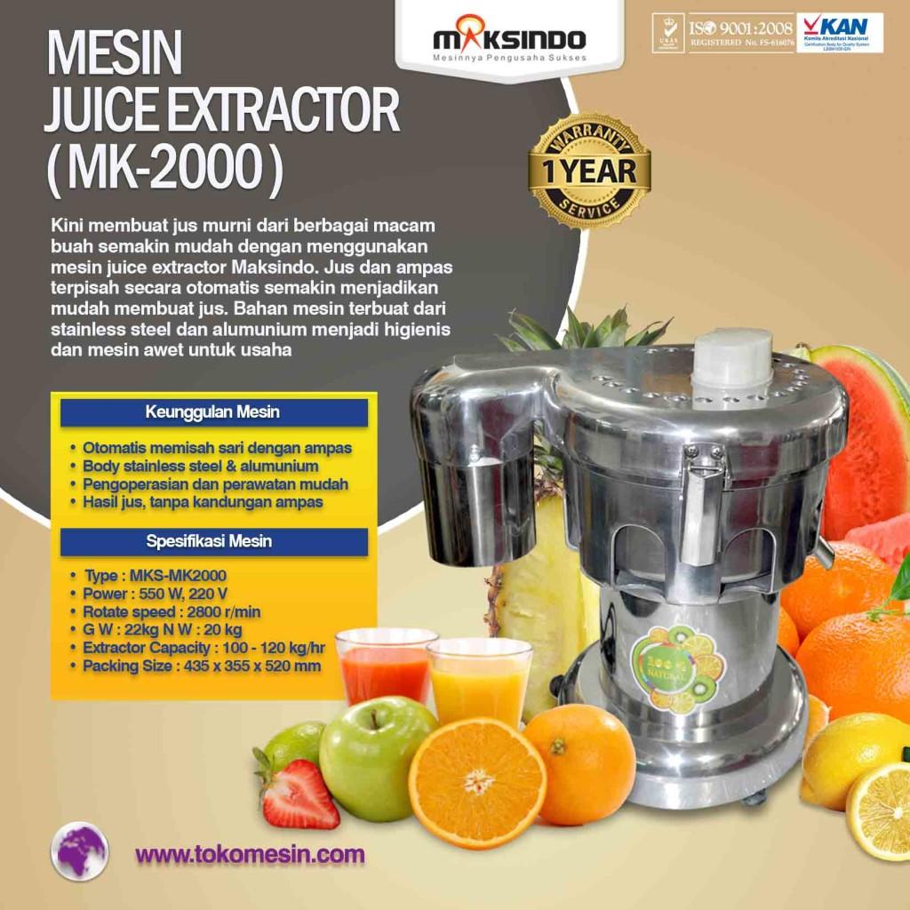 Mesin JUICE EXTRACTOR MK 2000 1 1024x1024 Mesin Juice Extractor (MK 2000)