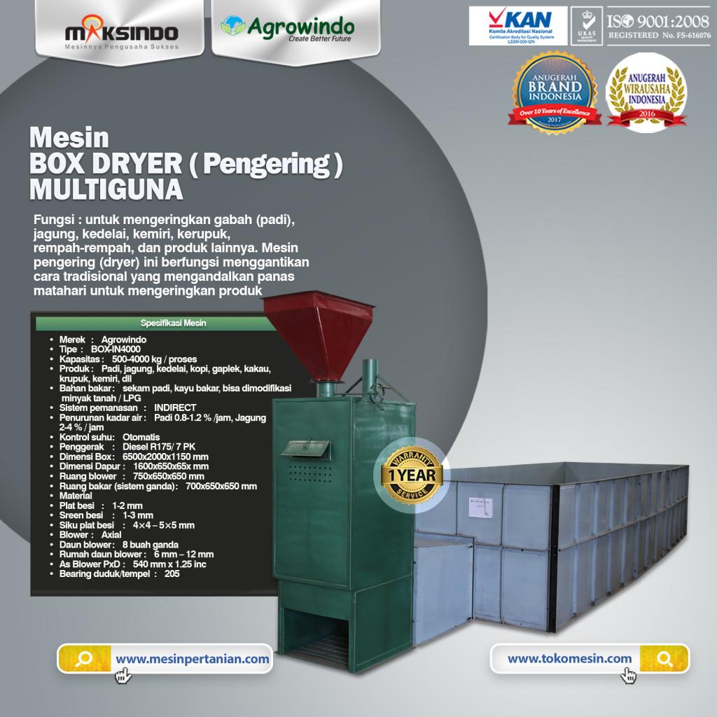 Mesin BOX DRYER Pengering MULTIGUNA BOX IN4000 1024x1024 Mesin Box Dryer Pengering Multiguna