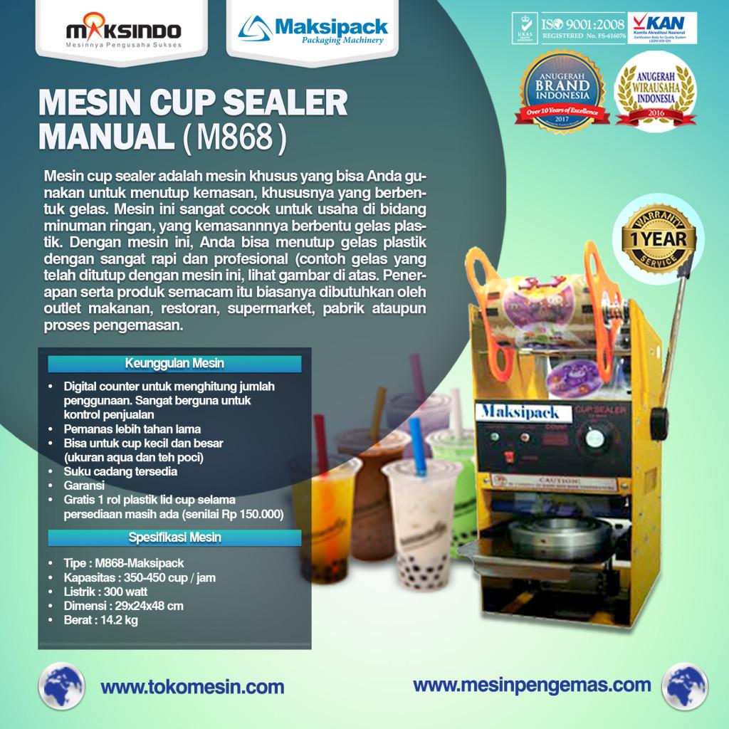Mesin Cup Sealer M868  1024x1024 Mesin Cup Sealer Manual