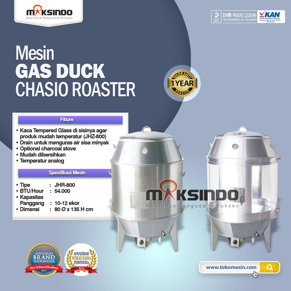 Mesin Gas Duck CHASIO ROASTER JHR 800 1024x1024 Mesin Panggang Bebek