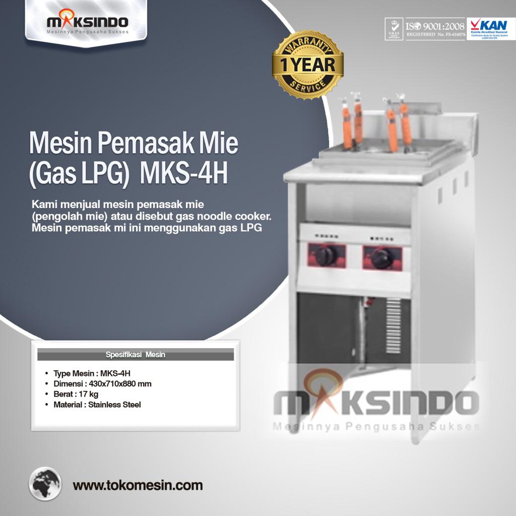 Mesin Pemasak Mie Gas LPG MKS 4H 1024x1024 Mesin Pemasak Mie (Gas LPG)