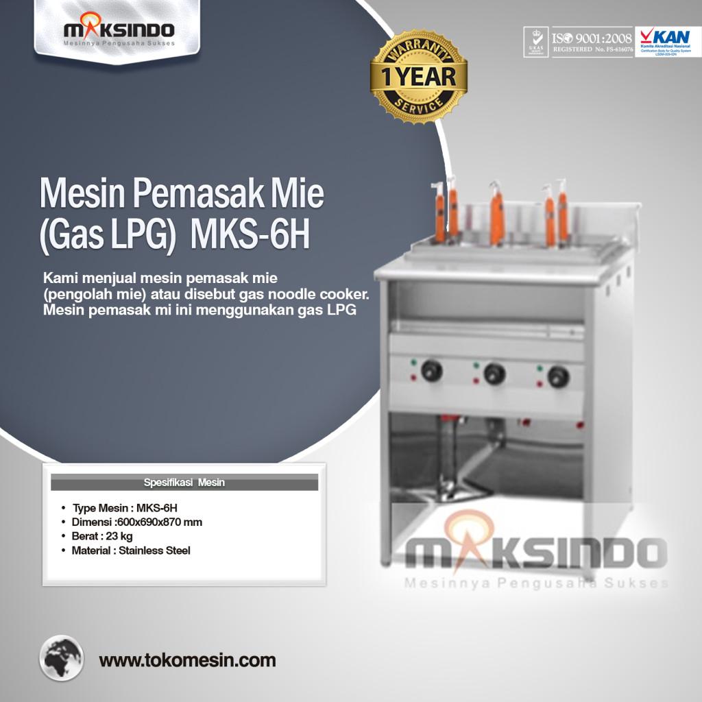 Mesin Pemasak Mie Gas LPG MKS 6 H 1024x1024 Mesin Pemasak Mie (Gas LPG)