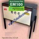 Mesin Penetas Telur Manual 100 Telur (EM-100)
