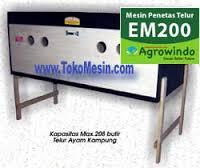 mesin penetas telur 5  Mesin Penetas Telur Manual 200 Telur (EM 200)
