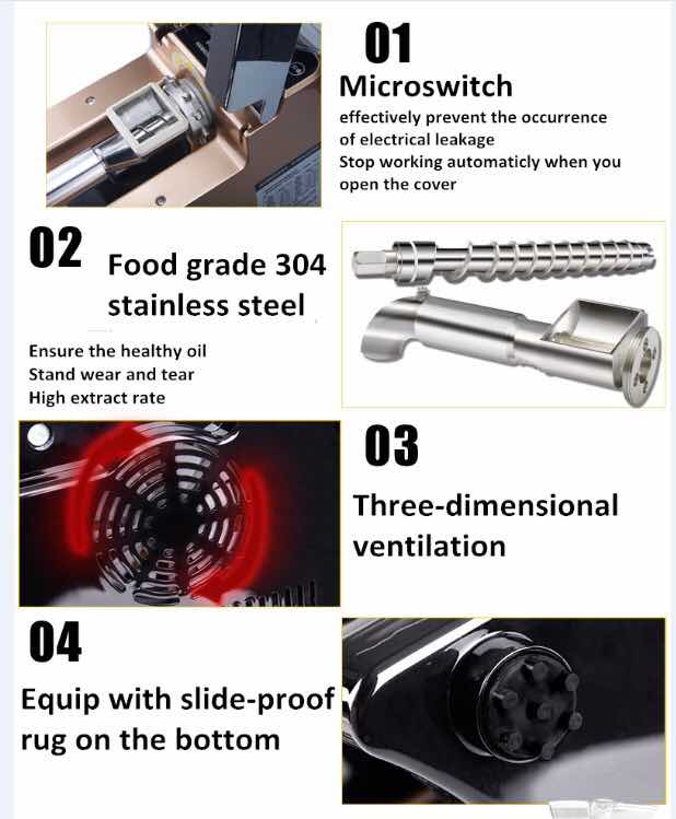Mesin Press Minyak Biji Bijian MKS J03 6 Mesin Press Minyak Biji Bijian (MKS J03)