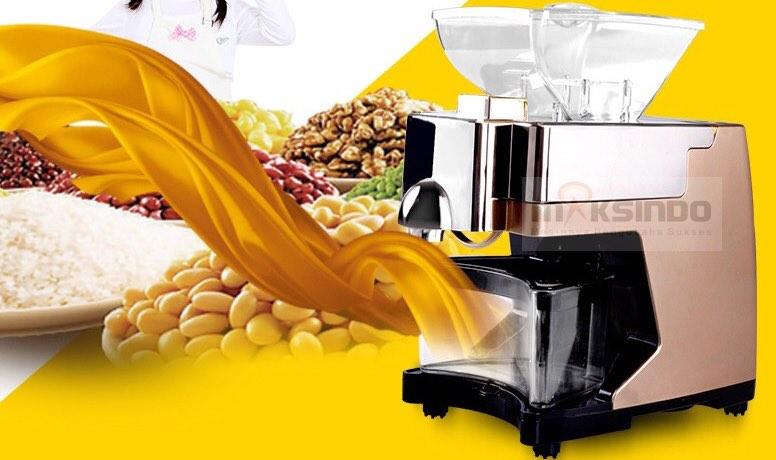 Mesin Press Minyak Biji Bijian MKS J03 Mesin Press Minyak Biji Bijian (MKS J03)