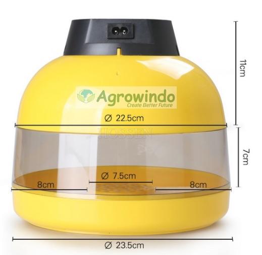 Mesin Tetas Telur 10 Butir INC 10 3 Mesin Tetas Telur 10 Butir (AGR TT10)