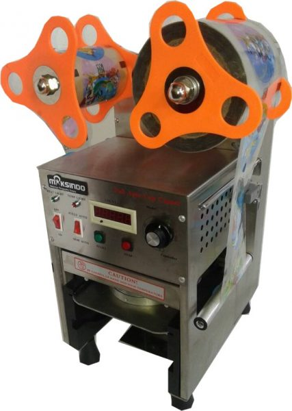 Mesin Cup Sealer Full Otomatis Stainless CPS 12A 2 Mesin Cup Sealer Full Otomatis Stainless (CPS 12A)