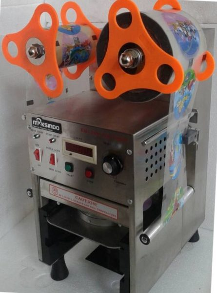 Mesin Cup Sealer Full Otomatis Stainless CPS 12A 3 Mesin Cup Sealer Full Otomatis Stainless (CPS 12A)