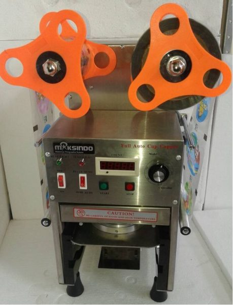 Mesin Cup Sealer Full Otomatis Stainless CPS 12A 4 Mesin Cup Sealer Full Otomatis Stainless (CPS 12A)