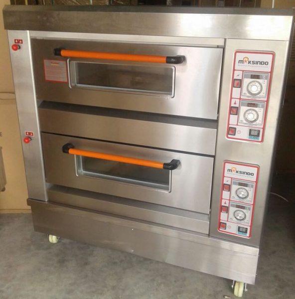 Mesin Oven Roti Gas 2 Rak 4 Loyang GO24 2 Mesin Oven Roti Gas 2 Rak 4 Loyang (GO24)