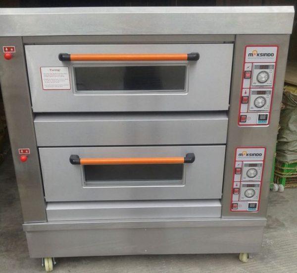 Mesin Oven Roti Gas 2 Rak 4 Loyang GO24 3 Mesin Oven Roti Gas 2 Rak 4 Loyang (GO24)