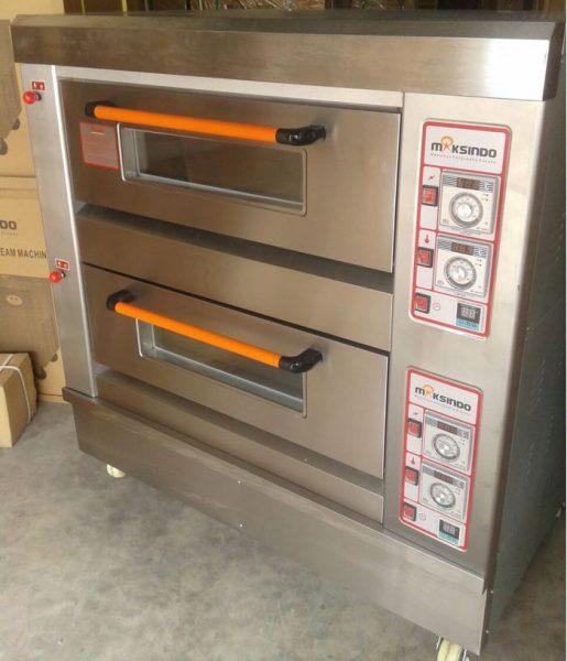 Mesin Oven Roti Gas 2 Rak 4 Loyang GO24 5 Mesin Oven Roti Gas 2 Rak 4 Loyang (GO24)