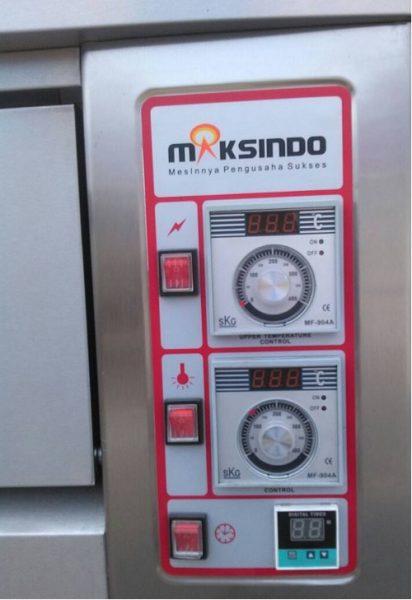 Mesin Oven Roti Gas 2 Rak 4 Loyang GO24 6 Mesin Oven Roti Gas 2 Rak 4 Loyang (GO24)