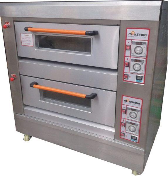 Mesin Oven Roti Gas 2 Rak 4 Loyang GO24 Mesin Oven Roti Gas 2 Rak 4 Loyang (GO24)