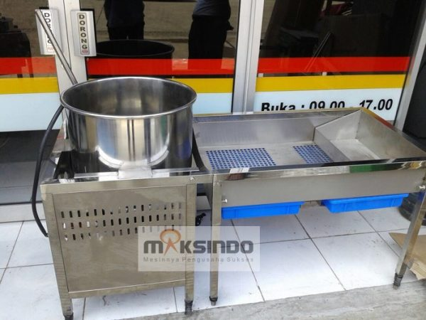 Mesin Popcorn Industrial Caramel Gas–CRM800 5 Mesin Popcorn Industrial Caramel (Gas) – CRM800