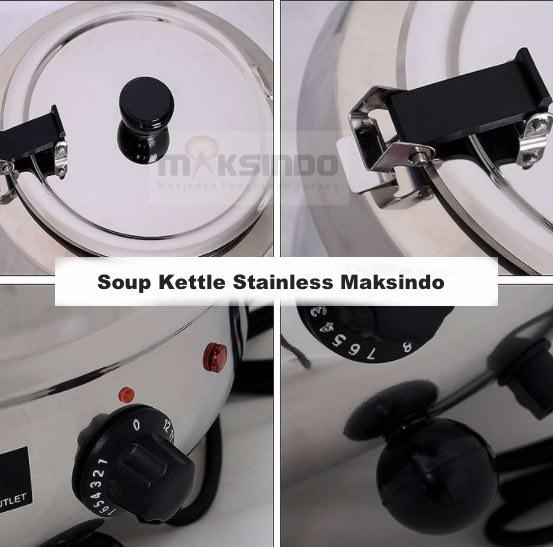 jual mesin soup kettle untuk sop 2 Mesin Penghangat Sop Stainless (Soup Kettle)   SB7000
