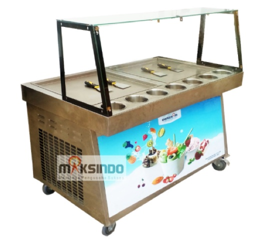 Mesin Roll Fry Ice Cream RIC50x2 Mesin Roll Fry Ice Cream RIC50x2