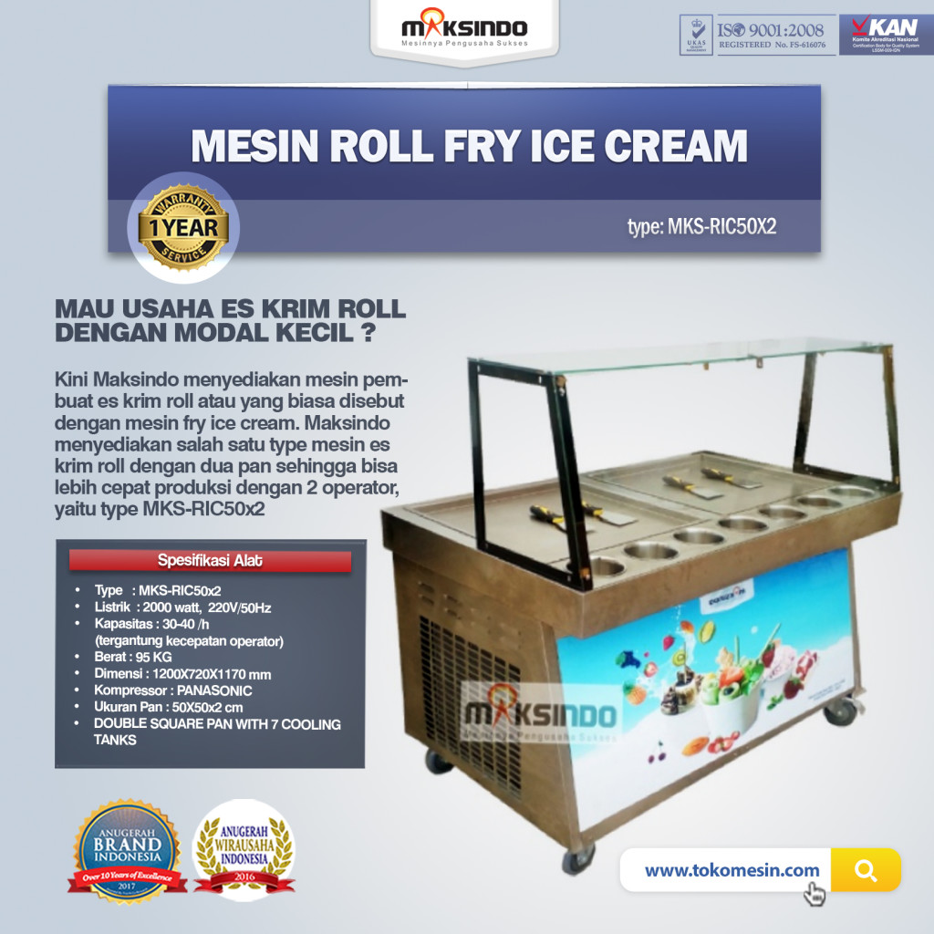 Mesin Roll Fry Ice Cream RIC50x21 1024x1024 Mesin Roll Fry Ice Cream RIC50x2