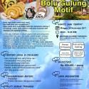 Training Bolu Gulung Motif, 26 November 2017