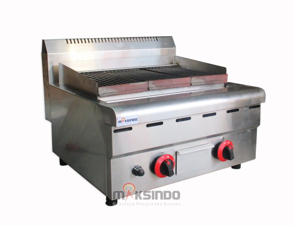 17 versi 21 1024x790 Counter Top Gas Lava Rock Grill MKS 603GL